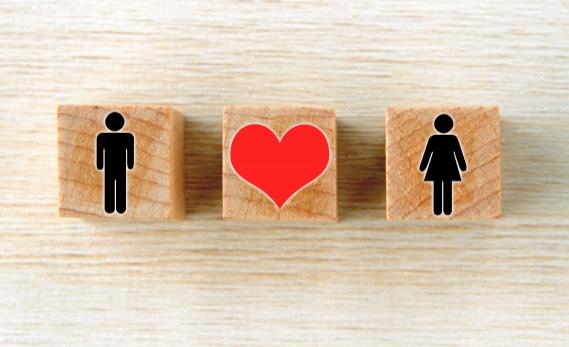 結婚相談所で出会った男女のイメージ画像