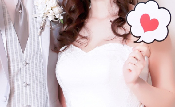 成婚した男女のイメージ画像